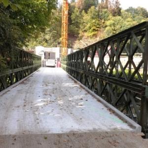Un des ponts d'acces