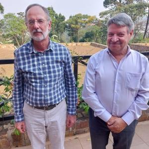 Réception de son Excellence l'Ambassadeur de Belgique au Rwanda