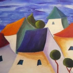 """ Maisons enchantees "" ( Fanny WEGNEZ )"