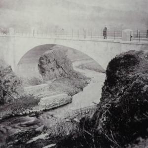 Le pont de Champagne - Outrewarche est termine ( 26 m de traversee )