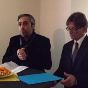 M. Kaynak, Echevin, lors de son intervention