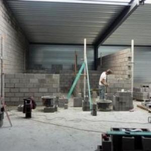 Etat des travaux en date du 27.09.2011 ( Photo J. Blavier )