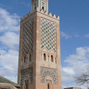 Une des 180 mosquees de Marrakech