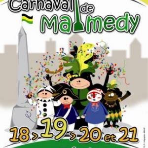 MALMEDY                      554ème édition du Carnaval de Malmedy ( le Cwarmè )