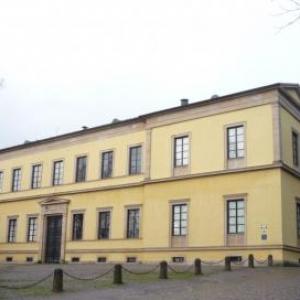 Le chateau de Ludwigshone  construit par Louis 1 de Baviere