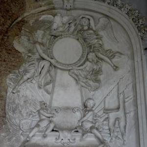 Decoration murale de la salle de bal