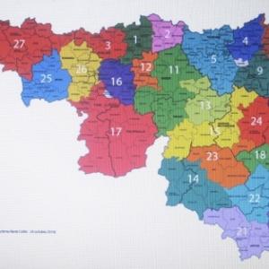 Apres la reforme : 28 Maisons du Tourisme