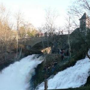 Le site de Coo et sa cascade