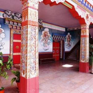 Entree du temple
