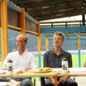 Organisateurs : Equipe Belman, Echevin Stany NOEL, President du SI Robertville