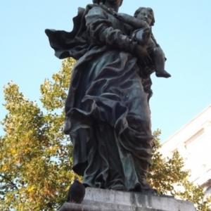 """Liege : """" La Vierge de Delcourt """""""