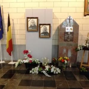 Monument des pères Hugues et Étienne, résistants fusillés le 9 octobre 1943