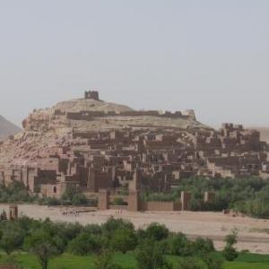 Le site classe d' Ait Benhaddou