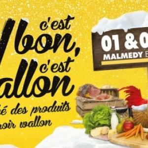 """Dernière étape en 2018 pour la tournée """"C'est bon, c'est wallon""""       ( 01 et 02.12 )"""