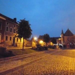 Le calme vesperal de Clermont sur Berwinne