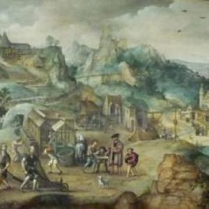 """"""" La mine de cuivre """" ( Lucas van Gassel )"""