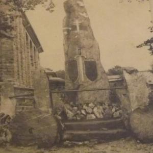 Le Monument des guerriers a Ondenval ( Waimes )