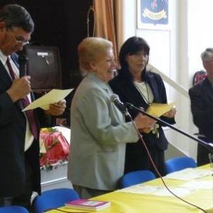 M. Freddy HERBRAND, President d'Honneur du RCW et la Delegation de la Societe de Langue et Litterature wallonne