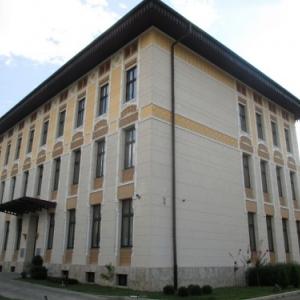 L'hotel de ville de Mostar