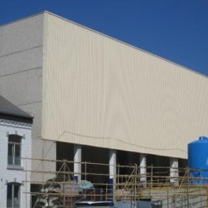 Facade du chantier au 24.04.2015