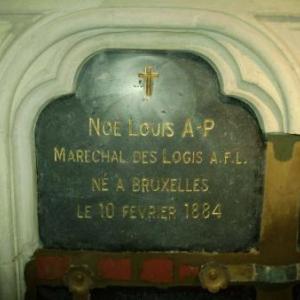 La sepulture de Louis NOE