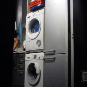 Le camion et les machines a laver