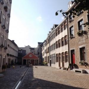 Liege : Quartier rehabilite ) Feronstree