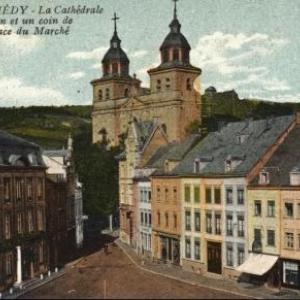 Le centre ville avant les bombardements
