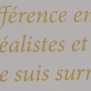 Citation de Dali
