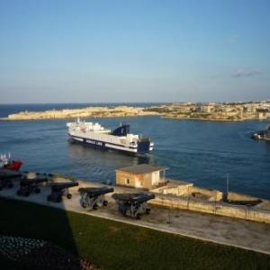 Vue en direction des Trois Cites : Senglea, Vittoriosa, Cospicua