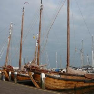 Volendam : les bateaux typiques de cette cote maritime