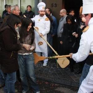 "Costume traditionnel "" Le Boldji "" ( le boulanger )"