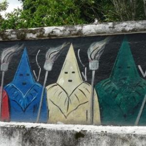 Goias : Decorations murales : les penitents