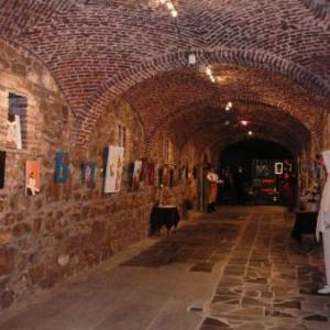Le cadre superbe des caves de l'Abbaye
