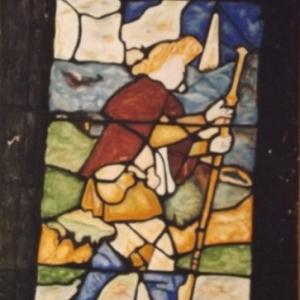Pelerin de St Jacques de Compostelle
