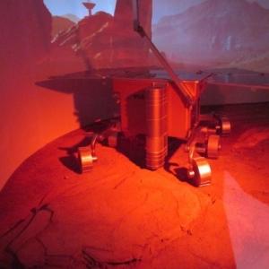 Le robot sur Mars