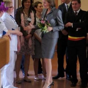 28. La Princesse s'adresse au personnel de l'hopital de semaine