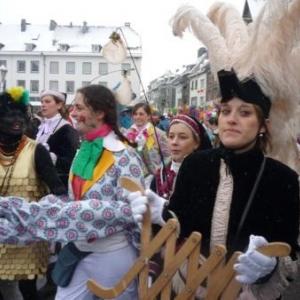 Participants au cortege