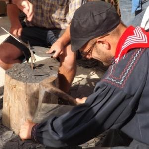 Vieux Metiers 2013 : le tailleur d'ardoises