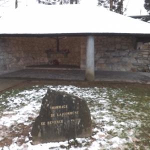 L'hommage de la commune de Beverce devenue Malmedy ( erige en 1945 )