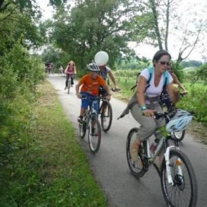 .. en bicyclette ...