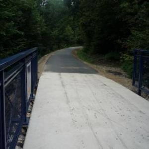 De nombreux ponts franchissent la Warchenne