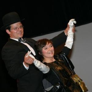 Tenue de soiree : Christian Grodent et Valerie Klein ( photo d' Olivier Charlier )