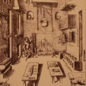 Une cuisine du 16eme s. )