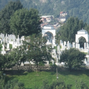 Sarajevo : un cimetiere mulsulman