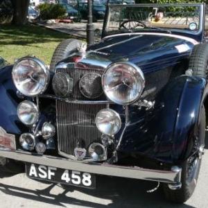 Maroc Classic Alvis 4,3 L de 1937