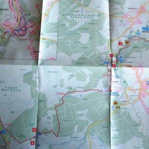 L'itineraire de la promenade du 26 avril 2015