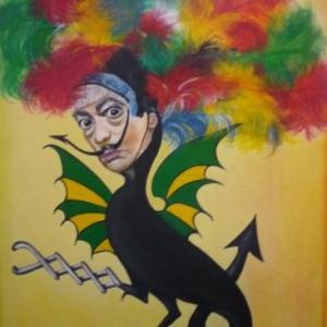 """ Malmedali, pardon Dali, pardon Haguette "" Surrealisme ( Jocelyne STEFFENS )"