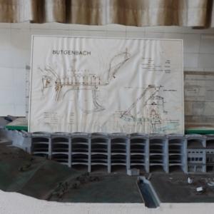 La maquette du barrage de Butgenbach