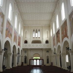Eglise du Rosaire ou officie Mgr Rixen